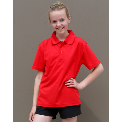 Picture of Kids CoolDry  Polyester Piqué Polo