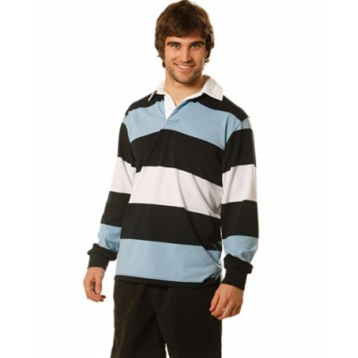 Picture of Mens Long Sleeve Rugby Top