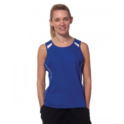 Picture of Ladies TrueDry Fashion Singlet