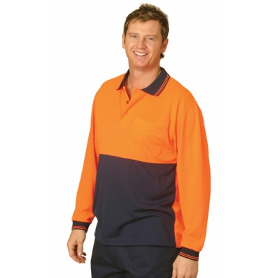 Picture of CoolDry Micro-mesh Safety Polo