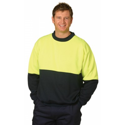 Picture of High Visibility Two Tone Crew Neck Safet