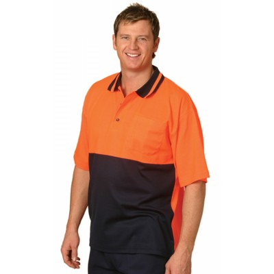 Picture of TrueDry Short Sleeve Safety Polo