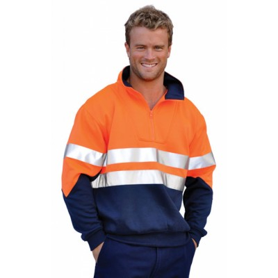 Picture of Mens High Visibility Long Sleeve Fleecy