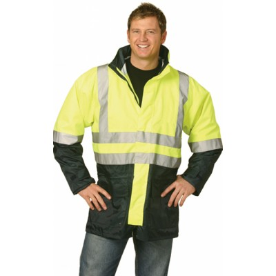 Picture of Hi-Vis Two Tone Rain Proof Safety Jacket