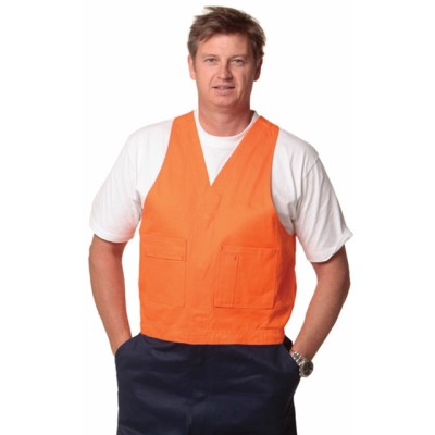 Picture of Mens Action Back Overall in Heavy Cotton