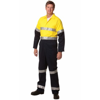 Picture of Mens Cotton Drill Coverall with 3M Scotc