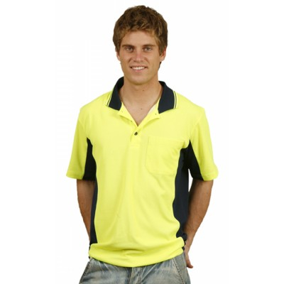 Picture of Mens Fashion TrueDry Safety Polo