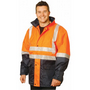 High Visibility Two Tone Jacket with 3M