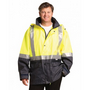 High Visibility Two Tone Jacket with Qui