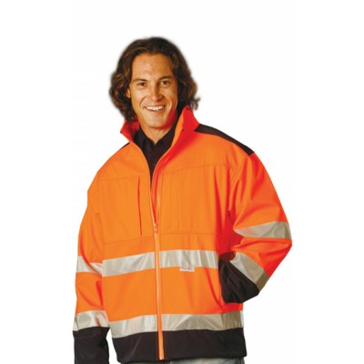 Picture of High Visibility Two Tone Softshell Jacke