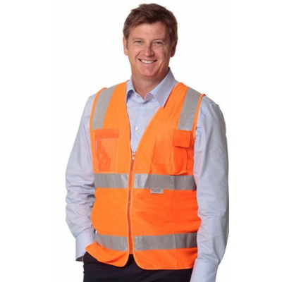 Picture of High Visibility Safety Vest with chest p