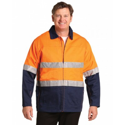 Picture of High Visibility Cotton Jacket With 3M Re