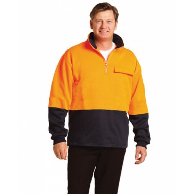 Picture of Hi-Vis Two Tone Cotton Fleecy Sweat