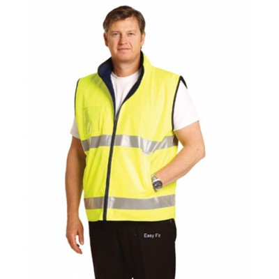 Picture of Hi-Vis Reversible Mandarin Collar Safety