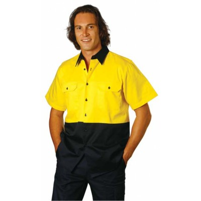 Picture of High Visibility Short Sleeve Work Shirt