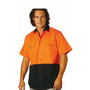 Mens High Visibility Cool-Breeze Cotton