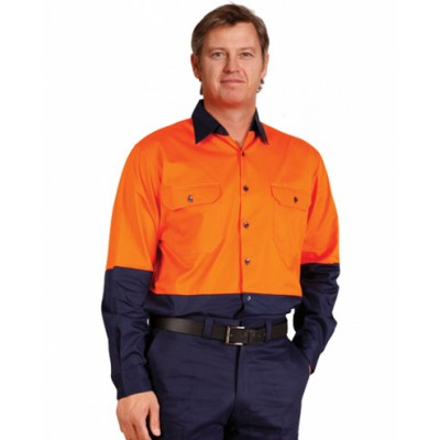 Picture of Mens High Visibility Cool-Breeze Cotton