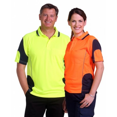 Picture of Unisex CoolDry Hi-Vis Mini Waffle Safety