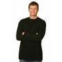 Mens Cotton Crew Neck Long Sleeve Tee