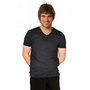 Mens Cotton Stretch V-Neck Short Sleeves