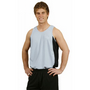 Mens Contrast CoolDry Mesh Singlet 160gs