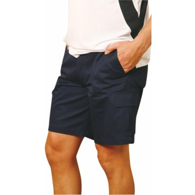 Picture of Mens Heavy Cotton Pre-shrunk Cargo ShortsWork Shorts