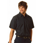 Cotton Drill Short Sleeve Work Shirt