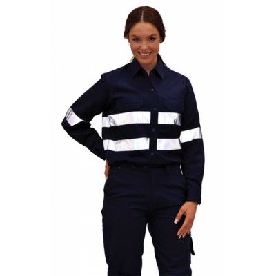 Picture of Ladies High Visibility Cotton Twill Safe