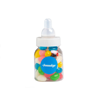Picture of Baby Bottle Filled with Jelly Beans (Mix