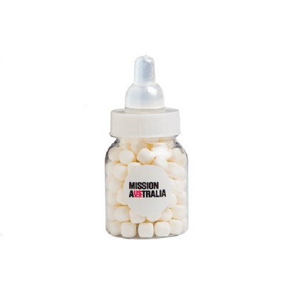 Picture of Baby Bottle Filled with Mints 50G