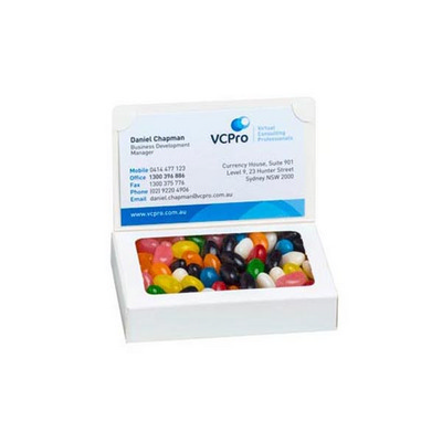 Picture of Bizcard box with Jelly Beans 50g (Mixed