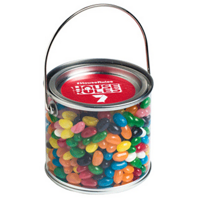 Picture of Medium PVC Bucket Filled with Jelly Bean