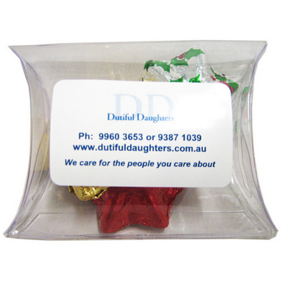 Picture of Pillow Pack Filled with Christmas Chocol