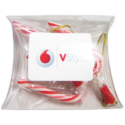 Picture of Pillow Pack Filled with Candy Canes x3