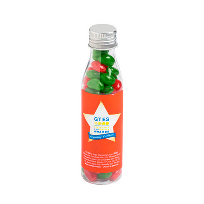 Picture of Christmas Jelly Beans In Soda Bottle 100GCHRISTMAS Jelly Beans 100g in Soda Bottl