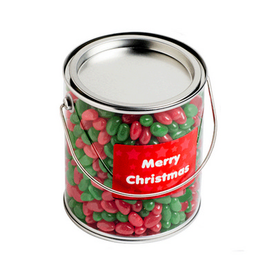 Picture of Big PVC Bucket Filled With Christmas Jel