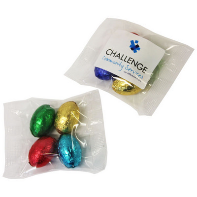 Picture of Mini Solid Easter Eggs In Bag X4 Eggs, 3