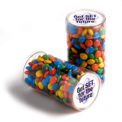 Picture of Pet Tube Filled with Mini M&Ms 100G
