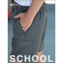 Kids School Cargo Shorts