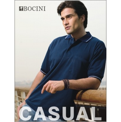 Picture of Unisex Adults Pocket Polo