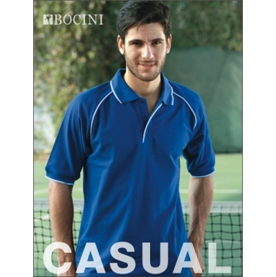 Picture of Unisex Adults Raglan Polo