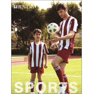 Picture of Unisex Adults Sublimated Striped Footbal
