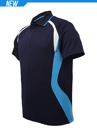Picture of Unisex Adults Sports Panel Polo