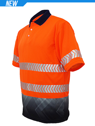 Picture of Unisex Adults Hi-Vis S/S Sublimated Refl