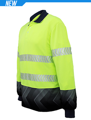 Picture of Unisex Adults Hi-Vis L/S Sublimated Refl