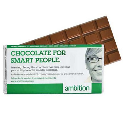 Picture of Large Chocolate Bar with Wrapper (3 day