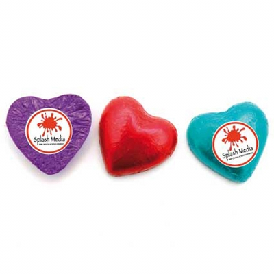 Picture of Chocolate Hearts w Sticker