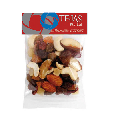 Picture of Fruit n Nut Mix Header Bag