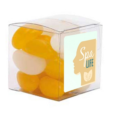 Picture of Small Clear Cube with Jelly Beans (Corpo