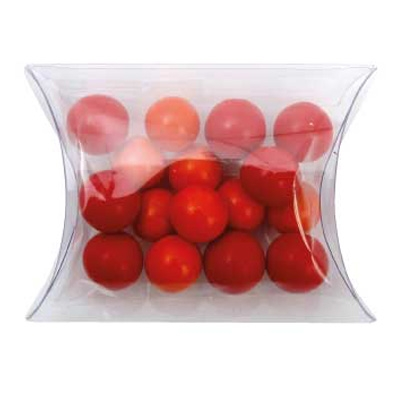 Picture of Clear Pillow Box with Chocolate Balls (C